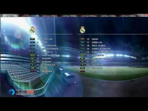 Goles de falta de Cristiano Ronaldo y Leo Messi en PES 2012 PC