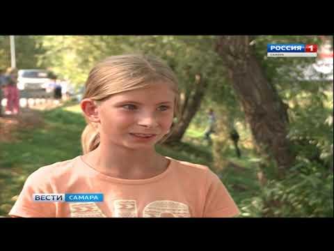 В Новокуйбышевске местные жители убрались на одном из озер