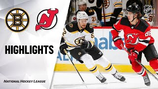 Extended highlights of the boston bruins at new jersey devils