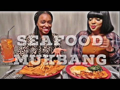 PAPPADEAUX SEAFOOD KITCHEN MUKBANG | Girl Talk