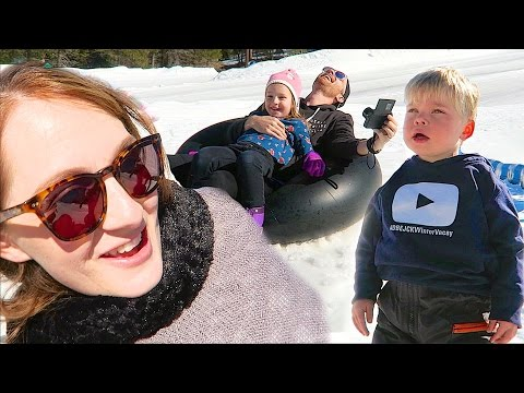 CRAZY SNOW CRASH! - #DBEJCKWinterVacay