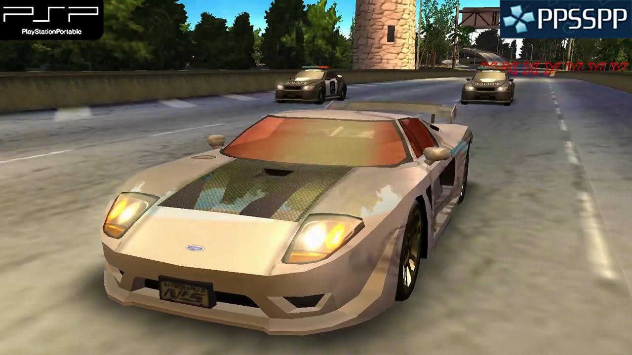 Need for Speed: Undercover - PSP Gameplay 1080p (PPSSPP ...