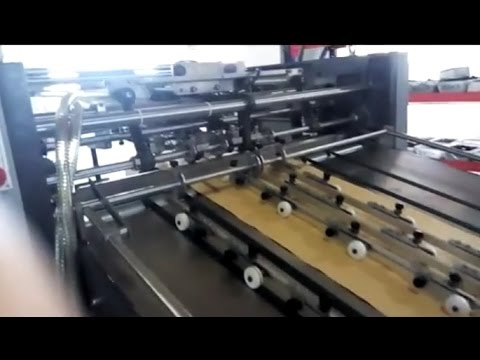 Paper Bag Making Machine for Paper Bags | Automatic Paper ...