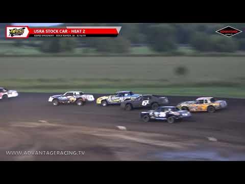 Stock Car Heats - Rapid Speedway - 8/16/19