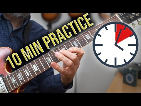 This is a good 10 minute practice routine