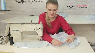 Видео урок. Пошив платье золушки. Часть 5