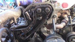 ЧАСТЬ ВТОРАЯ. Nissan YD25. Монтаж ГБЦ, выставление по меткам, промывка системы охлаждения.