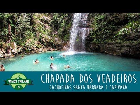Cachoeiras Santa Bárbara e Capivara - Chapada dos Veadeiros - GO - Vamos Trilhar
