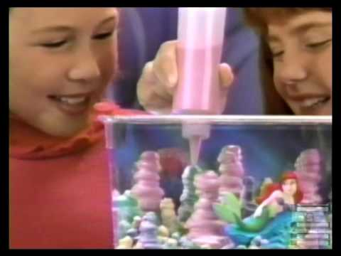 Disney Little Mermaid Sqand Commercial 1997