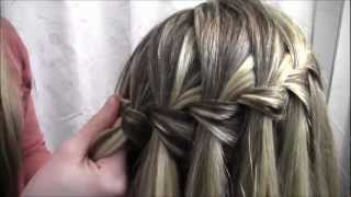 Tutorial #8- The Waterfall Braid