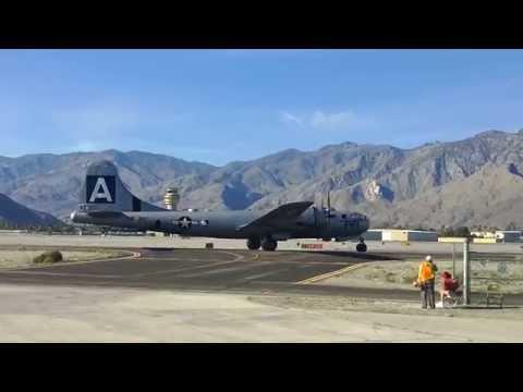 B-29 FiFi at Palm Springs Air Musuem 3-14-2015
