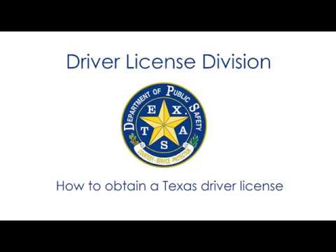 How To Get A Texas License >> How To Obtain A Texas Driver License