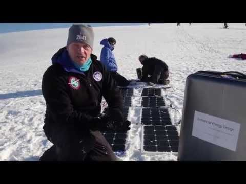 First test in the Antarctic by Robert Swan and 2041.com. Part 2