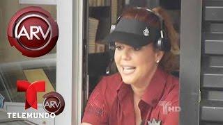 Al Rojo Vivo  | María Celeste se va a trabajar a Burger King | Telemundo ARV