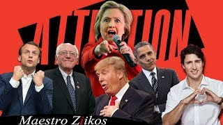 Download Lagu Charlie Puth - Attention ( Acapella Cover ) By Trump, Obama, Trudeau, Macron,Clinton ft. Ziikos Mp3