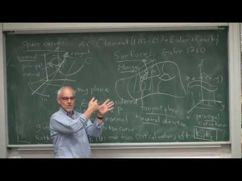 Differential Geometry | Math History | NJ Wildberger