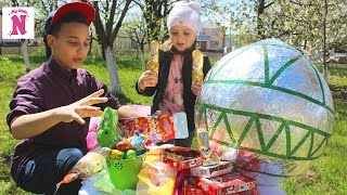 ЯЙЦО ЧЕЛЛЕНДЖ Огромное ПАСХАЛЬНОЕ яйцо Egg Challenge