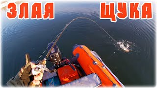 ЗАВАЛИЛ ПЕРВУЮ ЩУКУ СЕЗОНА Рыбалка в апреле на спиннинг с лодки 2021