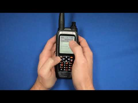 How To Delete A Frequency From Memory In The Icom A25
