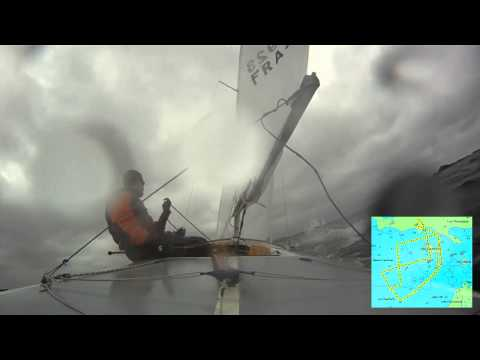 Race 2 of 6 - 18/05/2012 French National Flying Fifteen in Dinard
