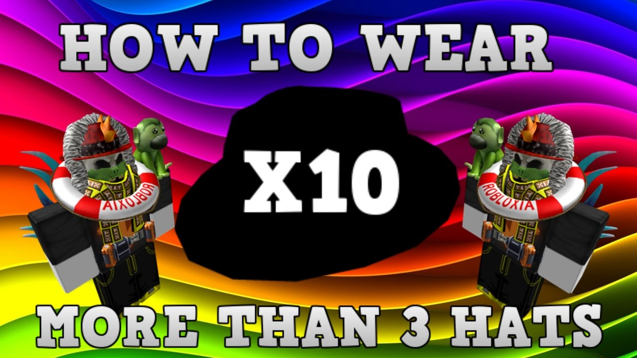 how to make hats on roblox