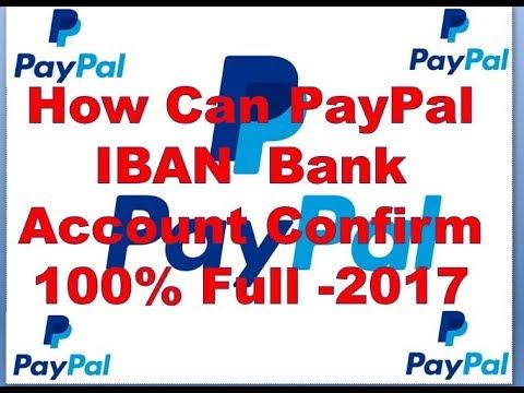 Paypal IBAN Bank Account Confirm 100%Working। Payoneer IBAN link with  paypal Bangla Tutorial-2017