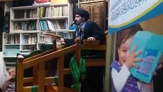 لماذا لا يتبرأ الشيعة من أعداء أهل البيت عليهم أفضل الصلاة والسلام في هذا الزمن - السيد منير الخباز
