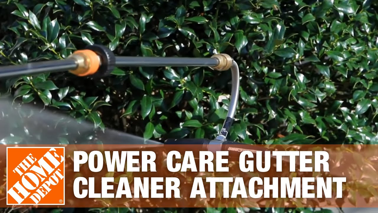 Power Care Gutter Cleaner Attachment Youtube