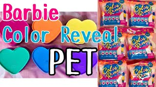 "BARBIE COLOR REVEAL "" PET "" Unboxing with Codes SUMMER 2020 BARBIE!!!!!"