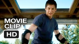 Percy Jackson: Sea of Monsters Movie CLIP - Obstacle Tower (2013) - Logan Lerman Movie HD