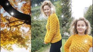 Iedereen kan haken© #How to#crochet #herfsttrui #Royal van de #Zeeman, Nederlands diff languages