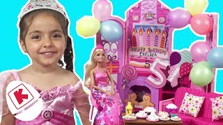 Barbie Life In The Dreamhouse Birthday Party - Princesses In Real Life | WildBrain Kiddyzuzaa