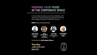 Sunnyside Chat #RosesPride: Keeping Your Pride in the Corporate Space