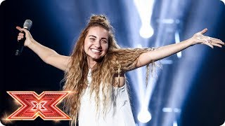 Talia Dean tries to bag a seat with Macy Gray cover | Six Chair Challenge | The X Factor 2017