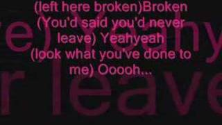 Digga - Broken with lyrics