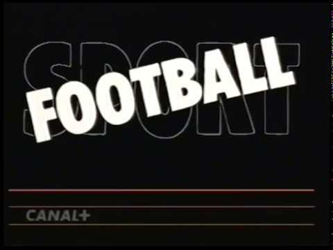 Jingle Canal+ / C+ Ident / Sport Football / VHS