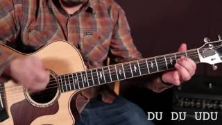essential strumming patterns beginner guitar lessons acoustic