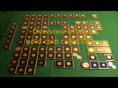 Overview of my Gold Coin Collection