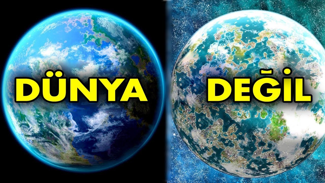 NASA, Dünya'ya Benzeyen 10 İnanılmaz Gezegen Keşfetti !