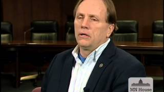 Informational interview with Rep. Jim Abeler (R-35A)