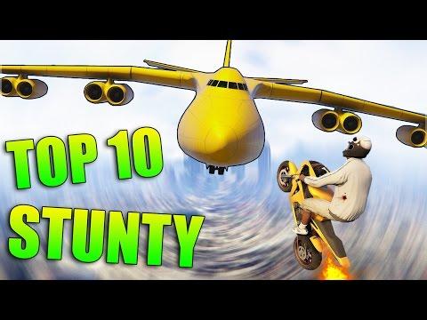GTA 5 STUNTY - TOP 10 STUNTOV - Epizóda 7