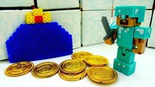 Король Слизней и золото Террарии. Видео игры со Стивом.