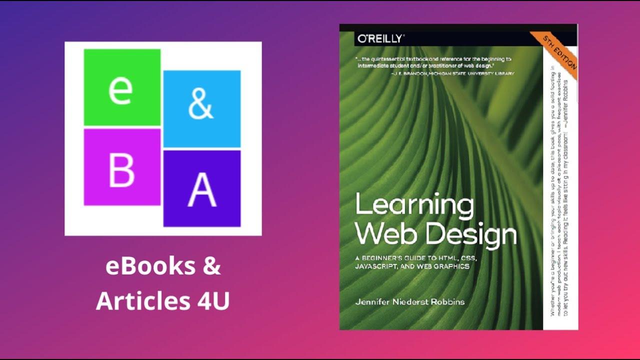 Learning Web Design Youtube