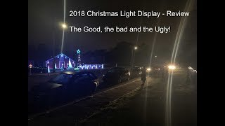 Lawrence Drive Lights 2018 Xmas Display - Overall review of the props in our Display
