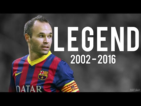 Andrés Iniesta ● Legend ● 2002 - 2016 thumbnail