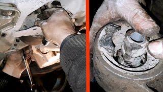Восстановили подушку двигателя на Opel Astra H / Замена передней подушки двигателя на Opel Astra H