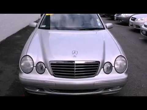 2002 mercedes benz e320 bellevue wa 98004 youtube for Bellevue mercedes benz