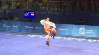 2015 28th Sea Games Men Optional Taijiquan - Lee Tze Yuan