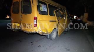 Խոշոր ավտովթար Երևանում  բախվել են թիվ 41 երթուղին սպասարկող ГАЗель ը և Toyota ն