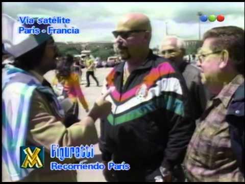 Figuretti en París, Mundial - Videomatch 98